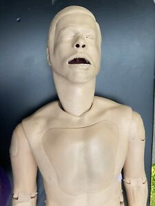 Laerdal SimMan Full Body Nursing CPR Airway Training Simulator Manikin