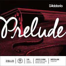 D'addario Bowed Corde seule (sol) pour Violoncelle Prelude Manche 1/4 ...
