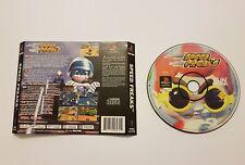 Speed Freaks ps1 solo CD+regalo portada trasera multi idioma