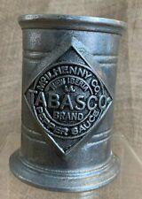 Wilton Pewter USA McIlhenny & Co Tabasco Sauce Bottle Holder 3-1/2 High