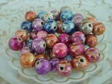 Glossy 10 - 10.9 mm Size Jewellery Making Craft Beads