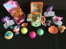 Littlest pet shop 2 teensie house playsets 6 figurines 4 zoobles
