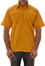 REGATTA GEO IV MENS SHORT SLEEVE CASUAL SHIRT MS156 B2 TEFLON