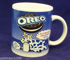 Oreo Cookie Coffee Mug Cup Spotted Cow Cookies Ceramic Tea Kraft Food 10 oz