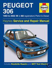 NEW Haynes 3073 Peugeot 306 Petrol and Diesel 93 - 02 Manual