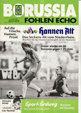 BL 87/88 Borussia Mönchengladbach - 1. FC Köln