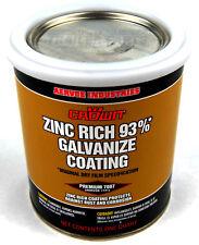 Boat Trailer Cold Galvanized Paint Rust Repair Quart Can 93% Zinc Content