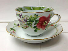 "VERSACE ""FLOWER FANTASY"" COFFEE CUP & SAUCER / BRAND NEW GERMANY ROSENTHAL"