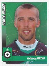 N°037 ANTHONY PORTIER # BELGIQUE CERCLE BRUGGE.KSV STICKER PANINI FOOTBALL 2011