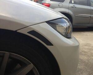 09-11 BMW E90 3 SERIES SEDAN SMOKE REFLECTOR TINT COVER SMOKED OVERLAYS