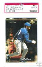 2001 Upper Deck Reserve Alex Rodriguez #BG1 PSA 9