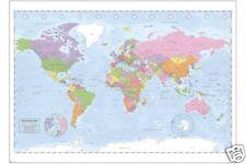 RIESEN Poster: WELTKARTE - Political World Map ca140x100cm NEU XL868