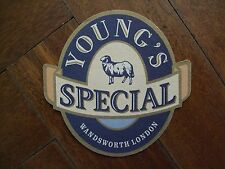 PUB COASTER - Young's SPECIAL, Wandsworth, London UK
