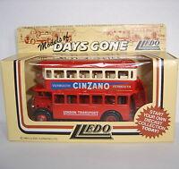Lledo : Days Gone Model : 1932 AEC Regent Double Deck Bus : CINZANO : DG15005a