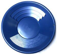 Goldwaschpfanne SE Gold Pan 14'' - 35 cm blau Kunststoff Goldwaschen Waschpfanne