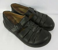 Birkenstock Black Closed Toe Buckle Women's Shoes Sandals Germany EU 41 L10 M8