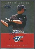 Toronto Blue Jays KEVIN AHRENS Signed TriStar Card