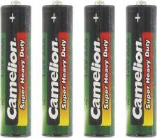 Piles jetables Camelion zinc-carbone pour équipement audio et vidéo