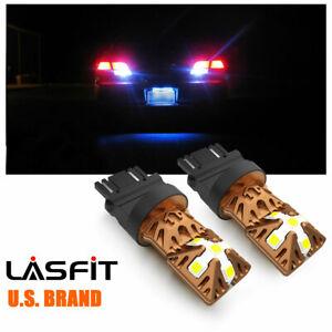 Lasfit 3057 3157 4057 LED Reverse Backup Light Bulbs for GMC Yukon 00-2006 6000K