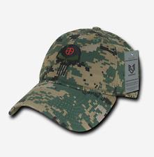 US RapDom Punisher CRAFT Tactical Skull Cap Mütze woodland digital camouflage