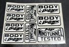 Vintage 90s Multiple Bolink RC Car Sticker Sheet 4 x 3
