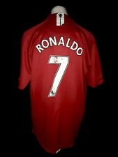 Manchester United 2007-09 Home Vintage Football Shirt #Ronaldo - Good Condition