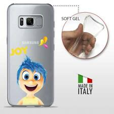 Samsung Galaxy S8 CASE COVER PROTETTIVA TRASPARENTE Disney Inside Out Joy Gioia