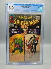 Amazing Spider-Man #37 CGC 3.0 First Appearance Norman Osborn Silver Age Marvel