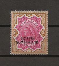 SOMALILAND 1903 SG 22a MINT Cat £850 . CERT