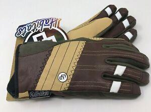 CG Habitats CG Leather Gloves Small Mustang Brown Dryatec Breathable Waterproof