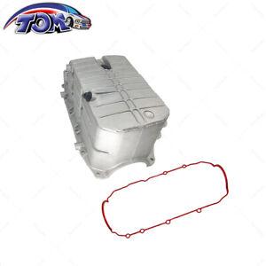 Brand New Engine Oil Pan W/ Gasket For Chevrolet Impala Malibu 6Cyl 4.5 Qts.