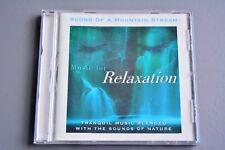 R&L CD Album: Sound of a Mountain Stream, Music for Relaxation Julian Mendelsohn