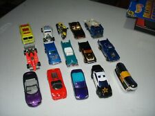 Lot of (15) assorted HOT WHEELS diecast cars and trucks motorcycle LOT (BB) Mint