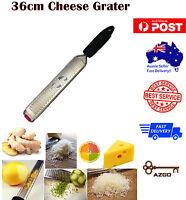 AZ SELLER 36cm Cheese Grater Zester Chocolate Ginger Slicer + cover