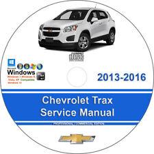 New listing Chevrolet Trax 2013 2014 2015 2016 Factory Workshop Service Repair Manual