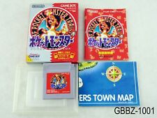 Complete Pokemon Red w/map Japan GB Game Boy Aka Japanese Import US Seller B