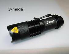 Sipik 3W 1 x AA 3-mode Adjutable Focus flashlight # 734