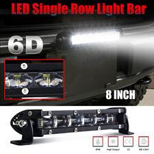 "CoLight 8"" Super Slim LED Light Bar Spot Beam Driving Fog Light Offroad 4WD UTV"