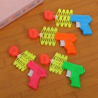 1 Pcs Children Kids Retractable Fist Shooter Trick Toy Gun Party Funny#que LrJNE