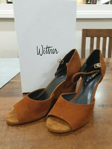 Wittner Naomi Whiskey Suede Leather Shoe