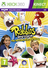 Rabbids Invasion The Interactive TV Show Kinect Xbox 360 * NEW SEALED PAL *