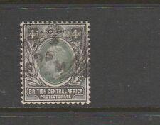 Nyasaland 1903/04 Crown CA 4d Used SG 61