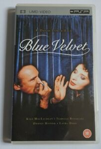 BLUE VELVET UMD VIDEO FOR PSP RARE DAVID LYNCH