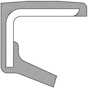 Steering Gear Pitman Shaft Seal fits 1957-1960 Studebaker Transtar 3E1,3E10,3E5,