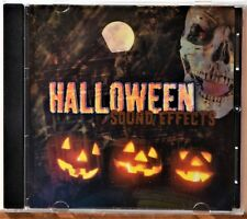 CD Halloween Sound Effects Horror Spooky Scary Thrills NICE DISC ExtrasShipFree
