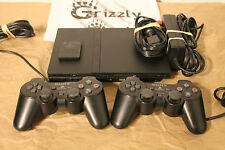 Sony PlayStation 2 Slim Console w/ controller & cables - Tested & Working (NTSC)