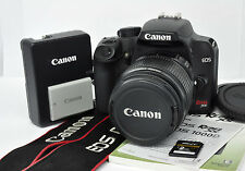 Canon EOS Rebel XS 1000D 10.1 MP Black Digital DSLR Camera Kit w/18-55mm IS Lens