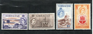 Gibraltar 1953-59 2s to £1 MH