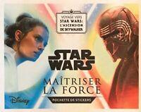 Stickers à l'unité au choix - Star Wars Maîtriser la force - Leclerc 2019