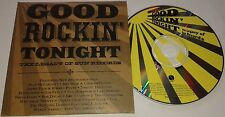 JOHNNY HALLYDAY BOB DYLAN..... ULTRA RARE CD PROMO AMERICAIN GOOD ROCKIN TONIGHT